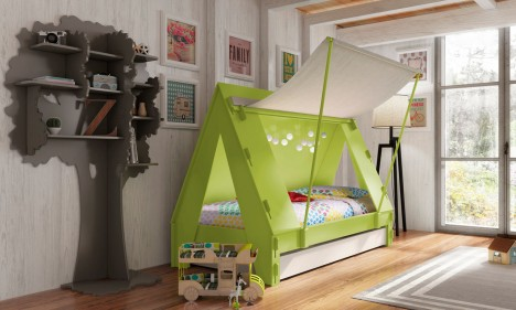 kids furniture tent beds
