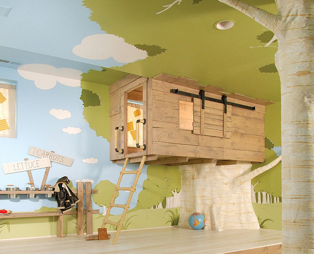 Kids Treehouse Design