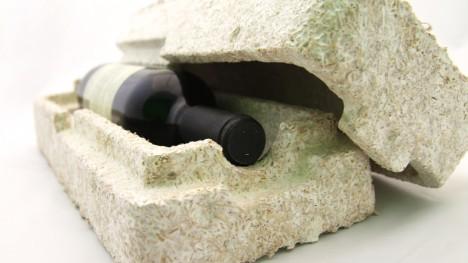 mushroom as product pacakging