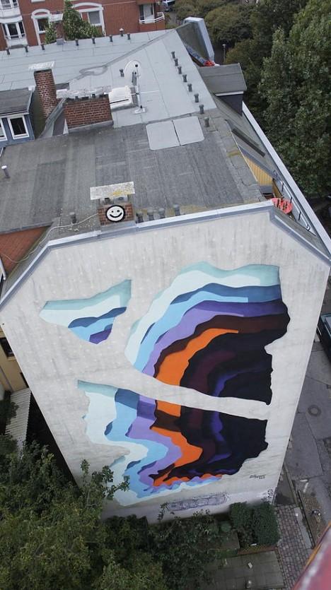 Deceptive Dimensions Illusion Street Art Creates D Portals - Incredible optical illusion street art 1010
