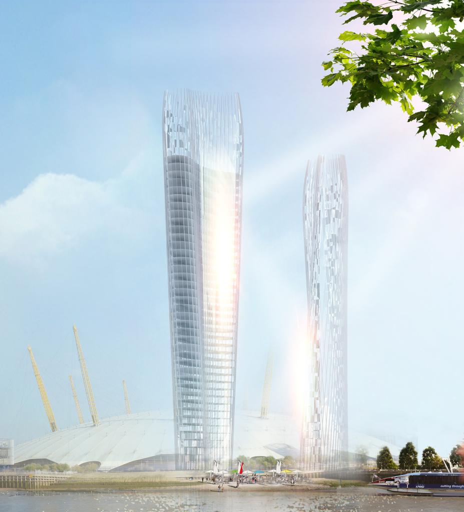 shadowless skyscraper concept design