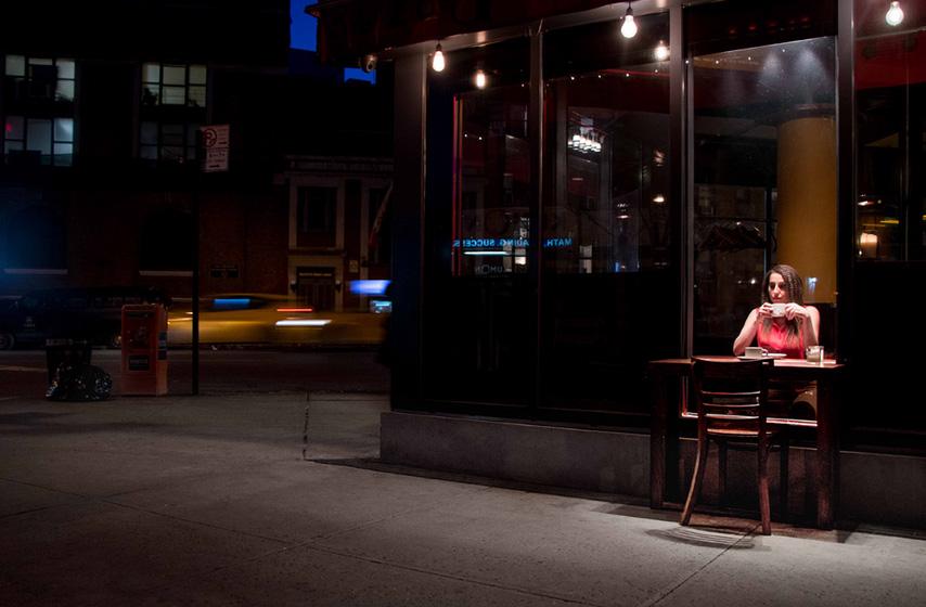 table public art piece