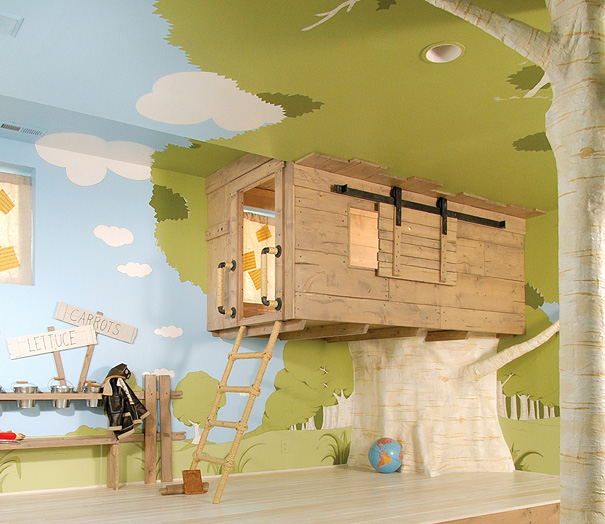 Kids Bedroom Tree House 16 fun kids room ideas will make you want to shrink yourself
