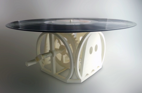 turntable 3D printed 1