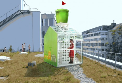 urban farming harvesting station 2