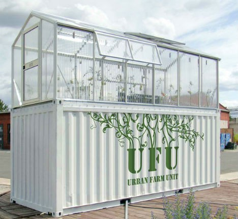 urban farming shipping container greenhouse 1