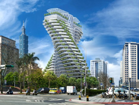 urban farming twisting tower 1