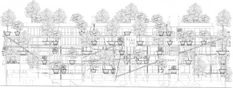 urban forest facade design