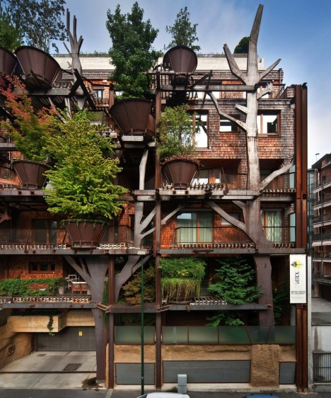 urban forest planters microclimate