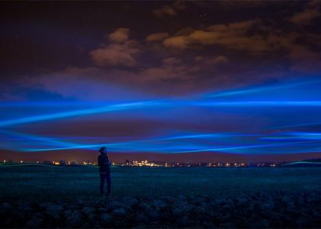 waterlicht northern lights effect