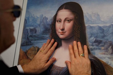 Touching Art: Raised Prints of Famous Paintings for the
