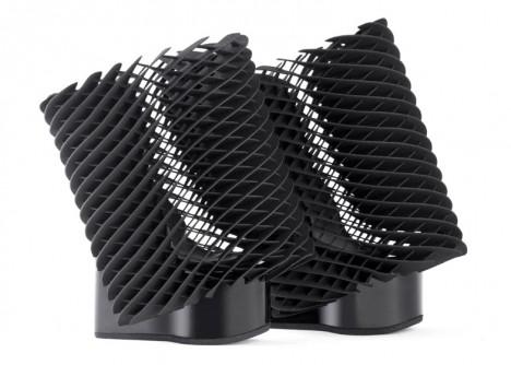 3d printed mesh shoe