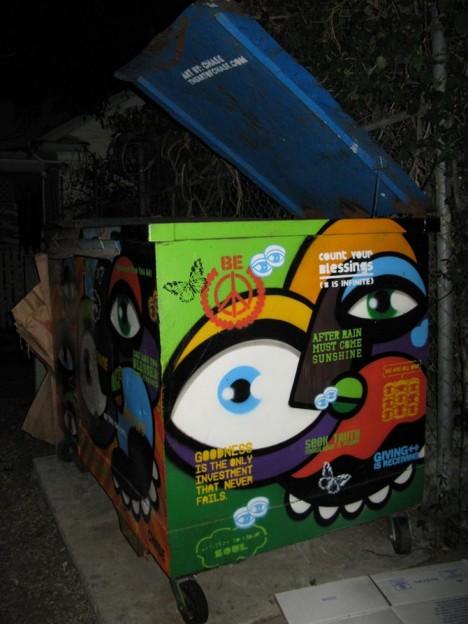 Dumpster Art 10b