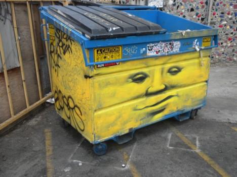 Dumpster Art 2