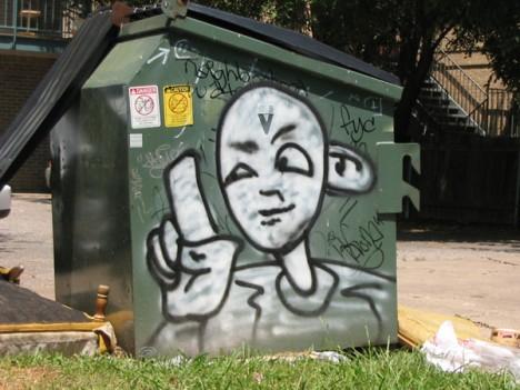 Dumpster Art 4