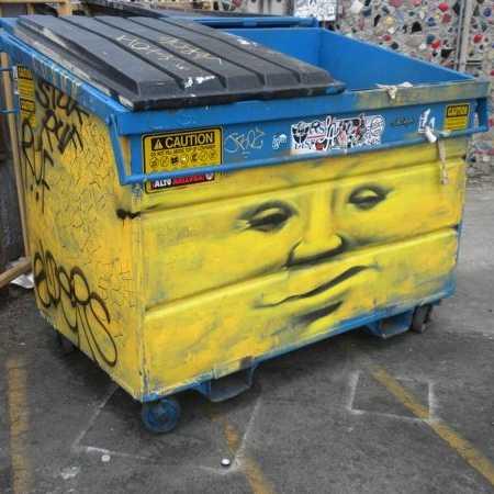 Dumpster Divine: 12 Flashy Trashy Artistic Dumpsters