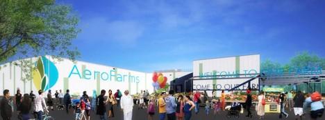 aerofarm facility rendering market