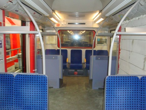 No Exit Bricked Train Door Blocks German Subway Commuters