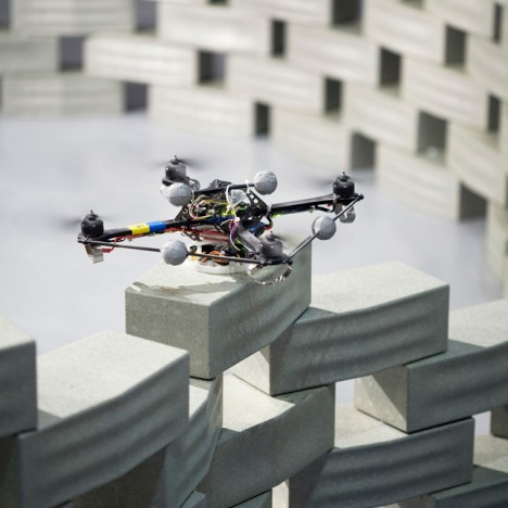 drone architectural construction structure
