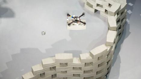 drone flying block design