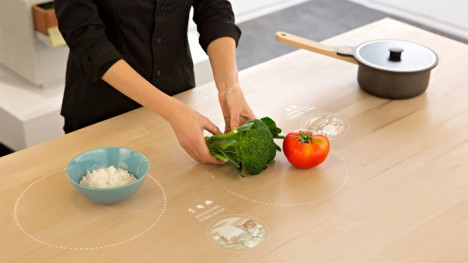 futuristic interactive surface design