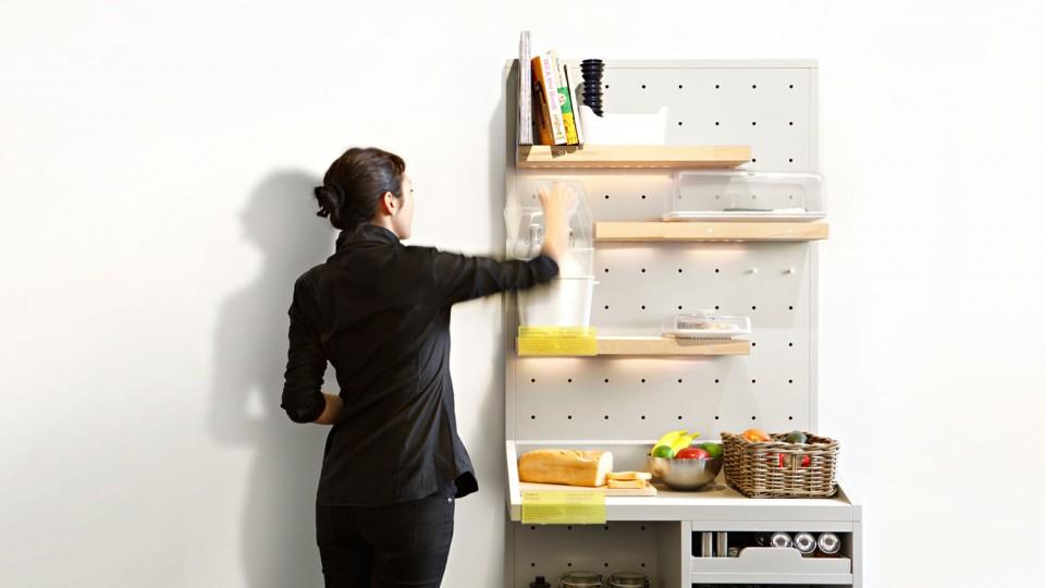futuristic kitchen pantry concept
