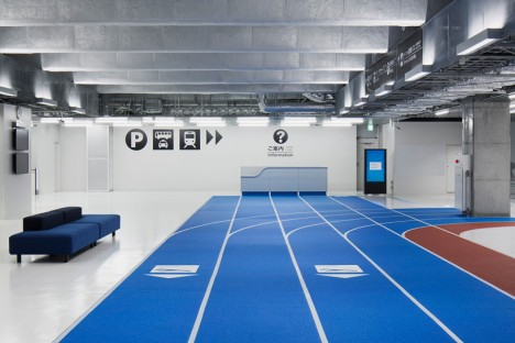 japan indoor running track