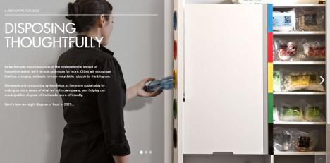 kitchen trash concept
