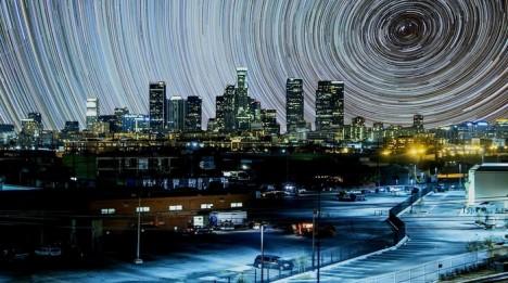 night urban swirl