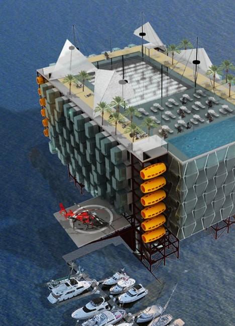 oil rig hotel morris 1
