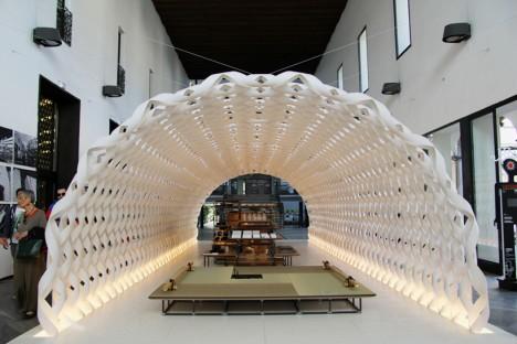 paper pavilion irori kuma