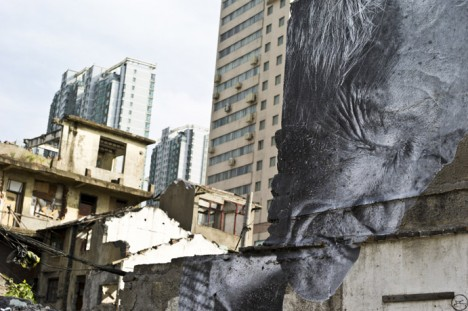 photographic murals wrinkles 2
