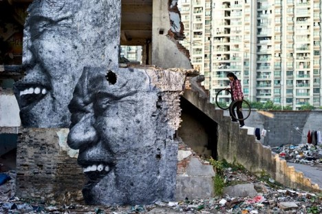 photogrpahic murals wrinkles 1