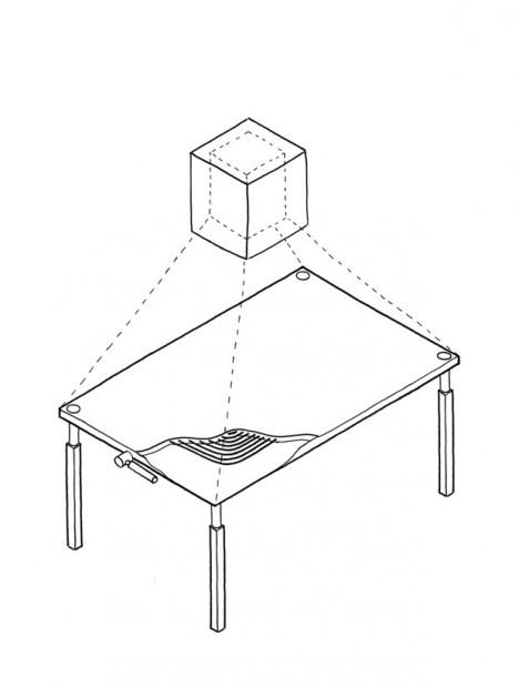 responsive kitchen tabletop design