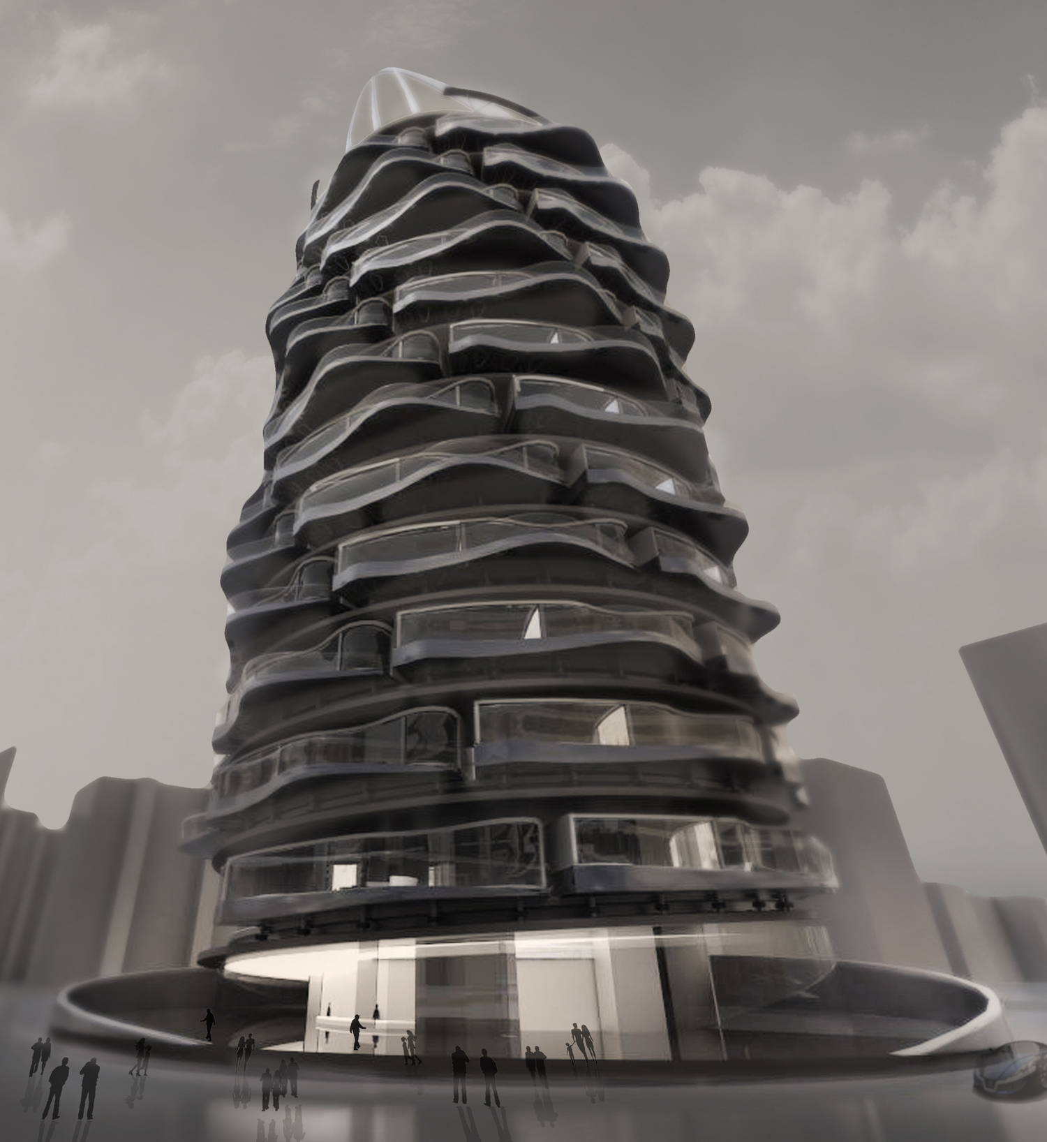 Rotating Condo Tower: Units Take Turns As The Penthouse
