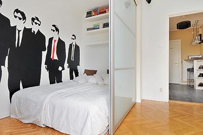 tiny apartment pax wardrobe