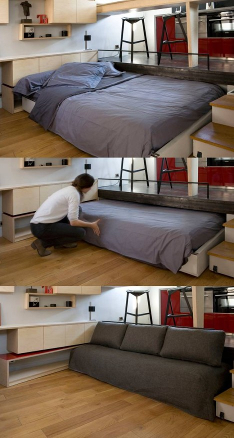 tiny apartment roll away bed 3