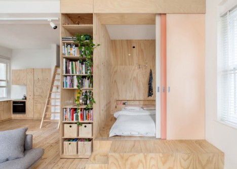 tiny apartment room for baby