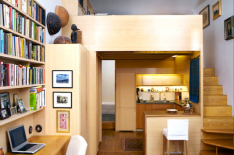 tiny apartments library