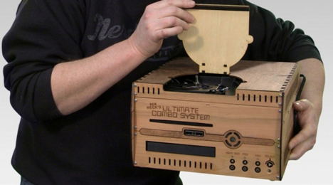 wood gadgets gaming system