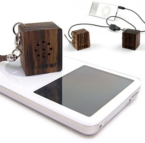 wood gadgets iphone speaker