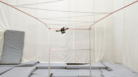 woven structure drones