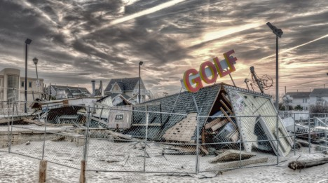 abandoned minigolf Sandy NJ 2