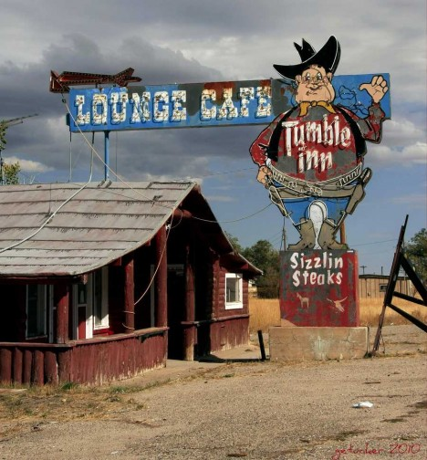 abandoned steakhouse Tumble Inn 4b