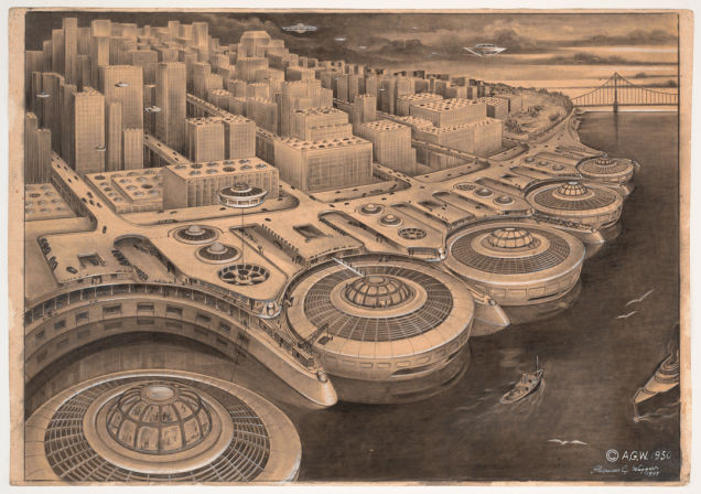 Retrofuturistic Urbanism 6 Cities As They Could Have