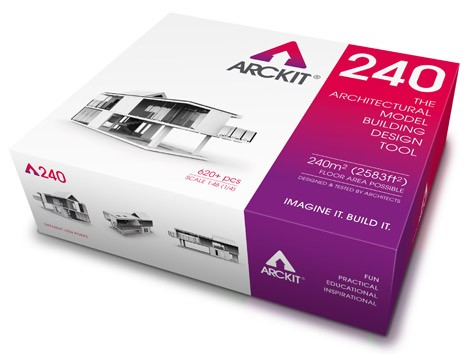 Architecture Design Kit arckit: reusable model-making blocks built& for architects
