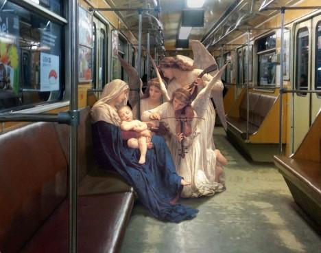 art street train car