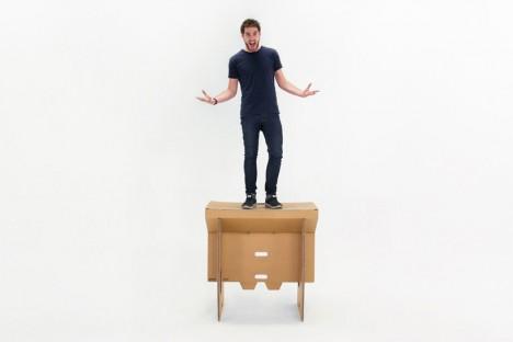 cardboard standing desk 2