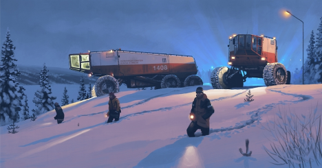 dystopian winter vehicles