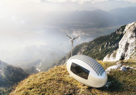 ecocapsule off grid unit